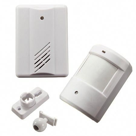 Driveway Patrol Motion Sensor Door Bell Alarm Wireless PRI Infrared Alert System
