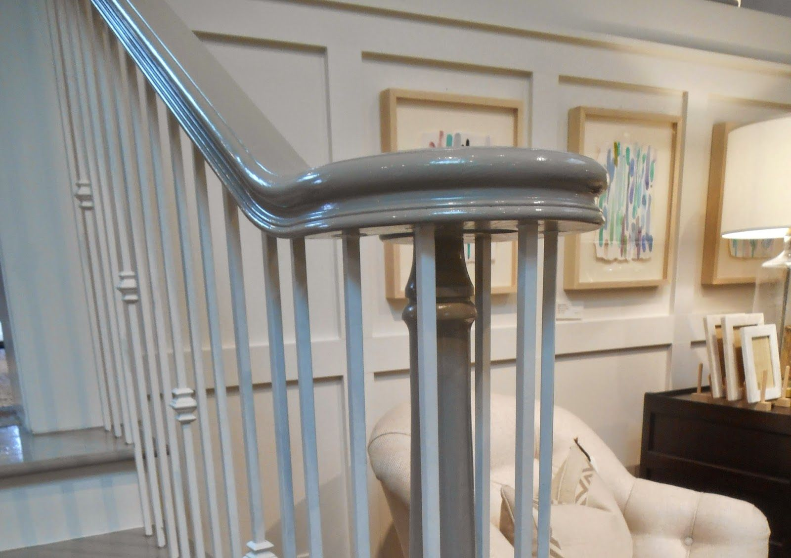 Best What About A Gray Banister Staircase Design Banisters 400 x 300
