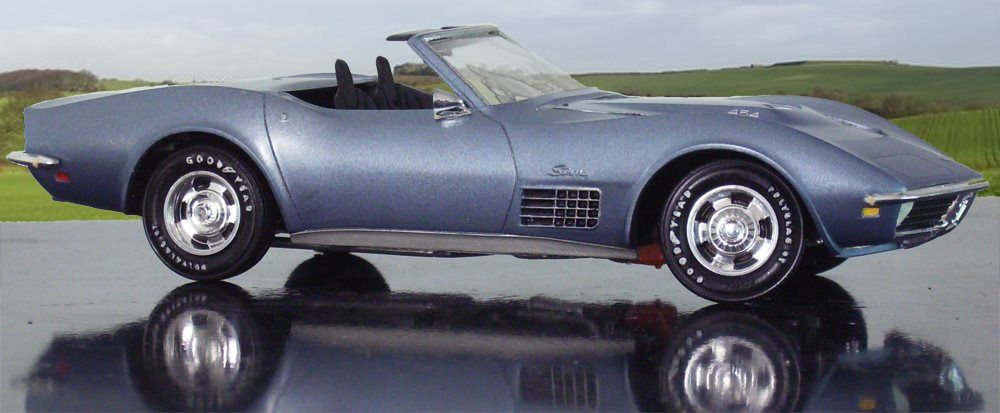 1972 Corvette - Scale Auto Magazine - For building plastic & resin scale model cars, trucks, motorcycles, & dioramas