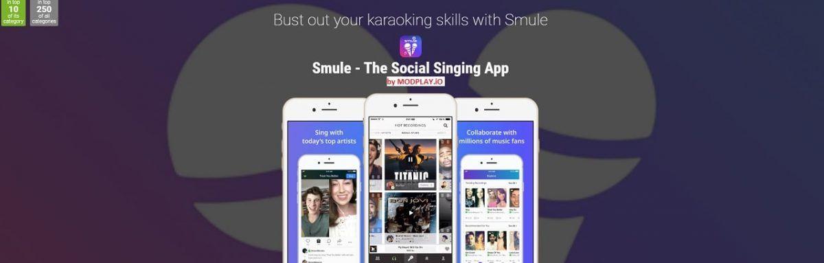 Smule Mod Apk 7 1 9 Download Vip Unlocked For Android Karaoke Songs Video Filter Karaoke