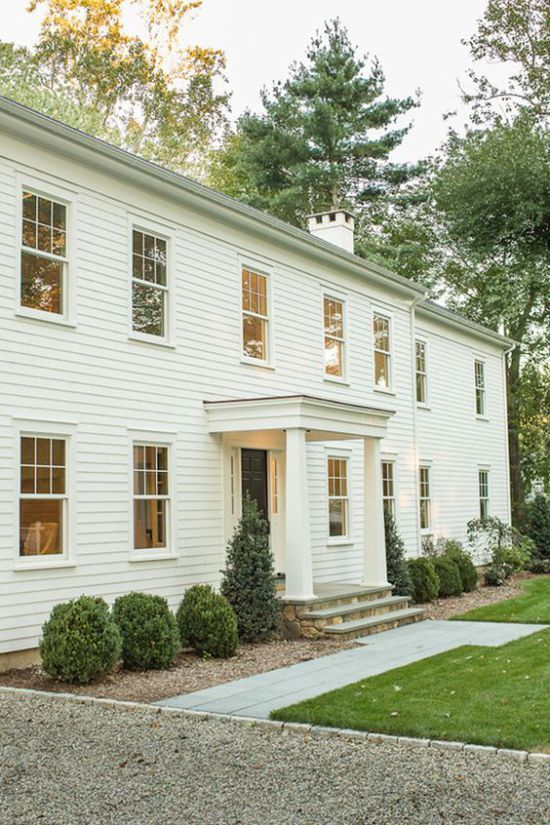 Sunday S Swoon Worthy Styles Colonial Home Style Colonial House Exteriors Colonial Exterior Farmhouse Exterior