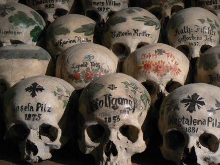 U0027The Bone Houseu0027 In The Catholic Church Hallstatt Austria