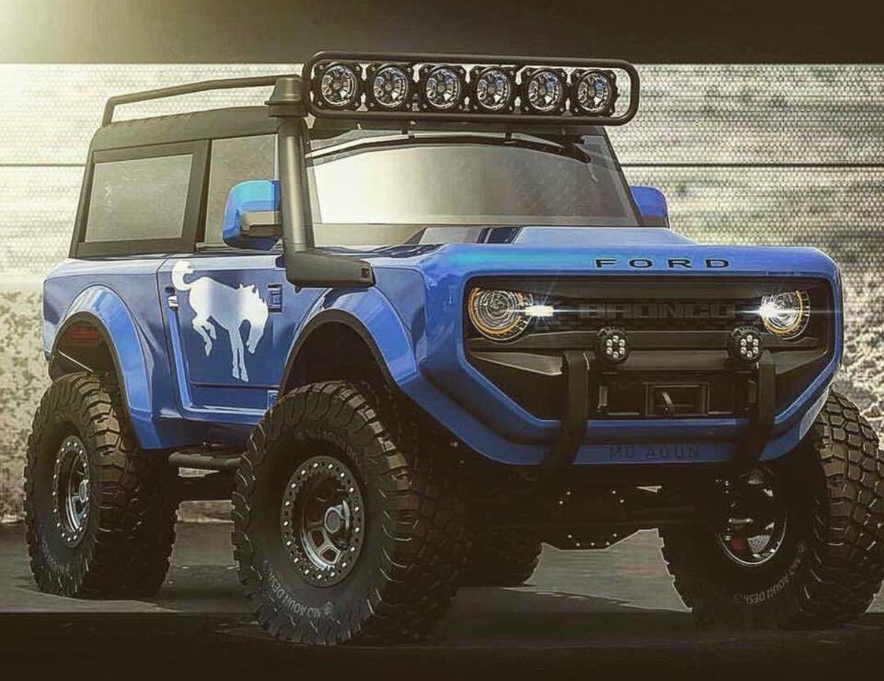 The new Bronco?! Ford bronco