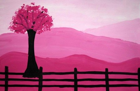 Simple monochromatic painting
