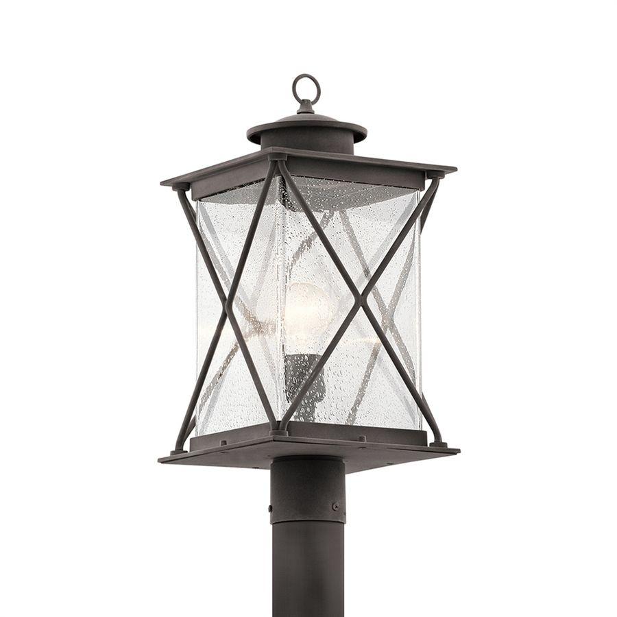 Kichler lighting argyle 195 in h weathered zinc post light 49746wzc kichler lighting argyle 195 in h weathered zinc post light aloadofball Gallery
