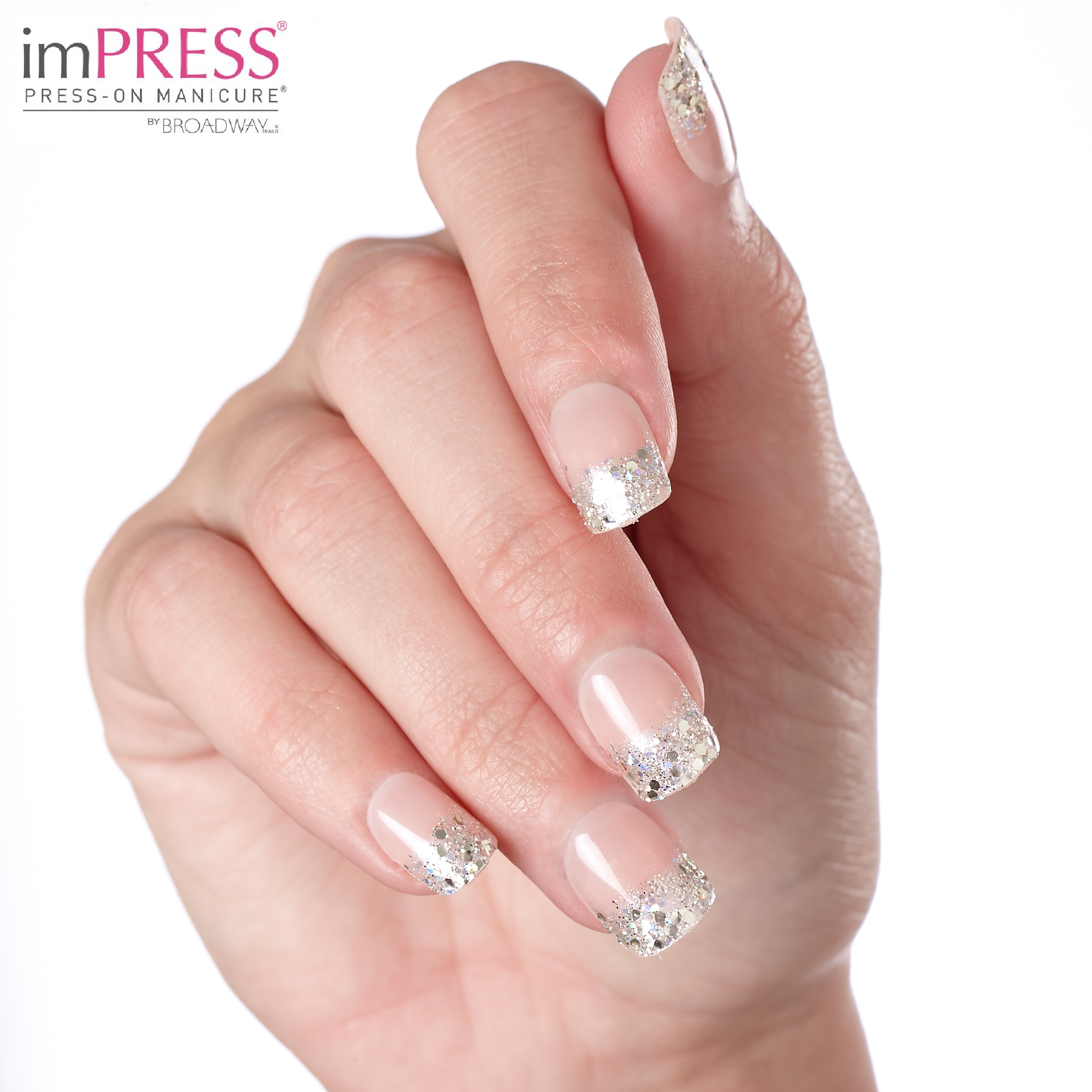 Impress press on manicure nails my style pinterest - Shine Bright Today With Impress Manicure In One Shine Day
