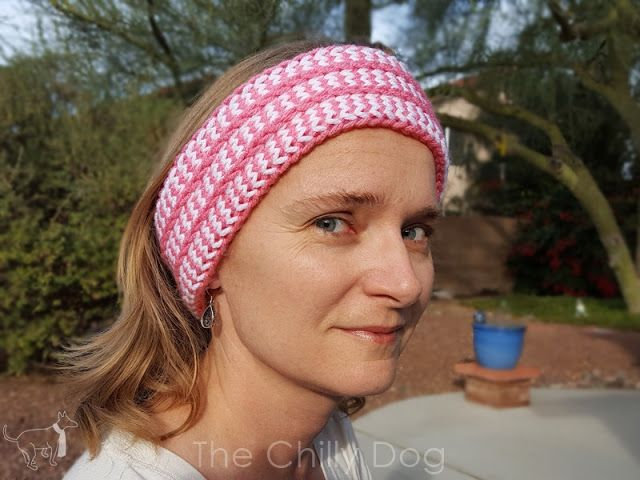 Clover Oval Loom Earwarmer Pattern The Chilly Dog Tutorials