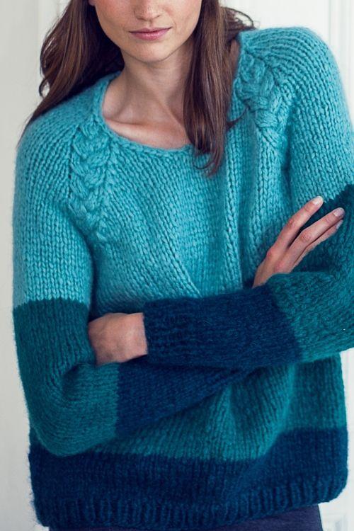 Photo of Sweater Stirnband Stulpen – Initiative Handarbeit