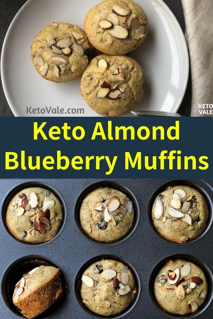 Almond Blueberry Muffins Opskrift