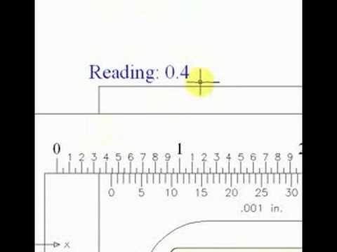 How To Read A Vernier Caliper Youtube Vernier Caliper Vernier Reading