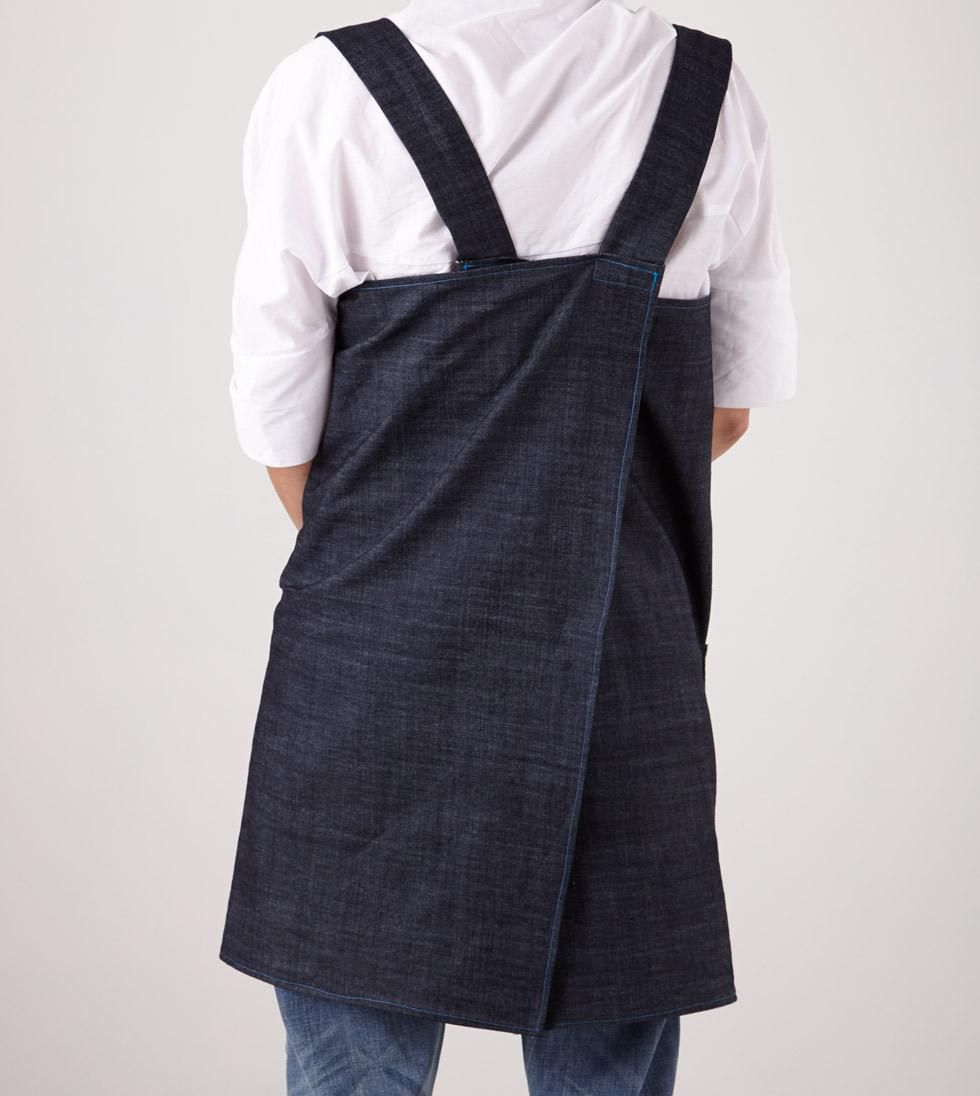 White apron pinafore - Make Your Own Pinafore Apron With This Simple Sewing Tutorial