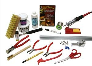 Stained Glass Tool Kit.Beginner Start Up Kit For Lead Came Stained Glass