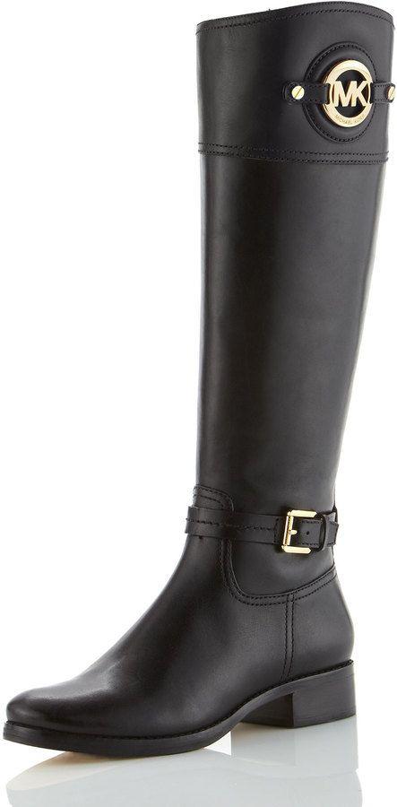 5e98ee16ec73 MICHAEL Michael Kors Stockard Leather Riding Boot