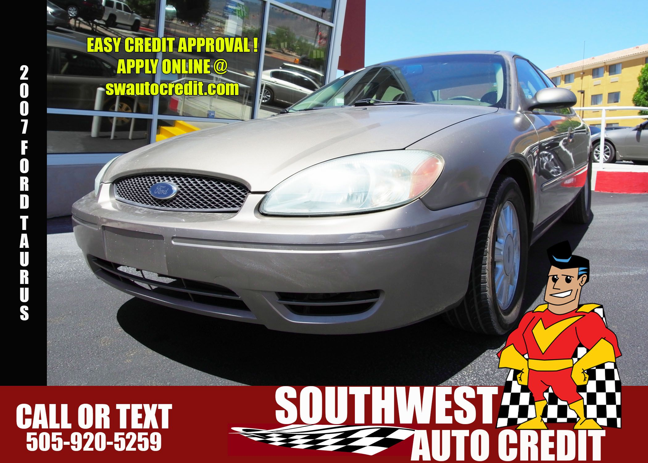 Southwest Auto Credit >> 2007 Ford Taurus 6950 00 Southwest Auto Credit We Offer In
