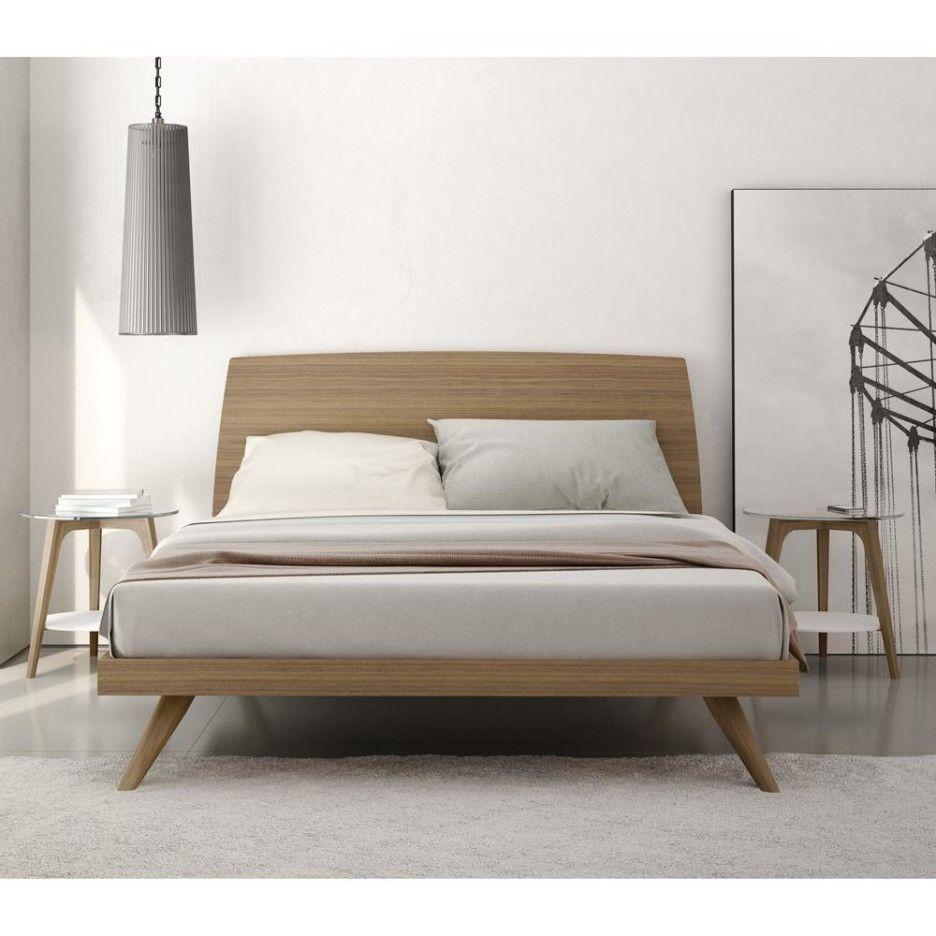 Modern King Size Platform Bed Frame Camas Modernas Hermosas