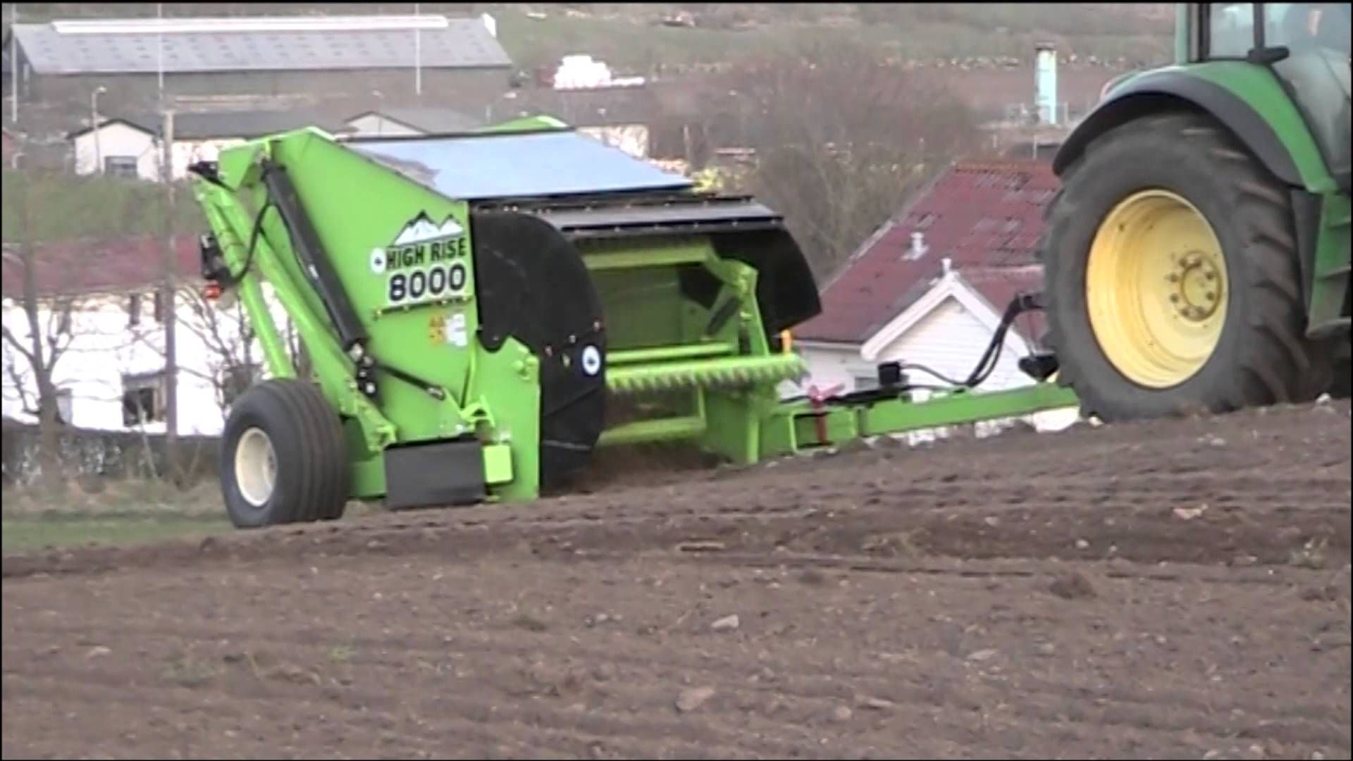 Rock Picker Schulte High Rise 8000 Picking Stones High