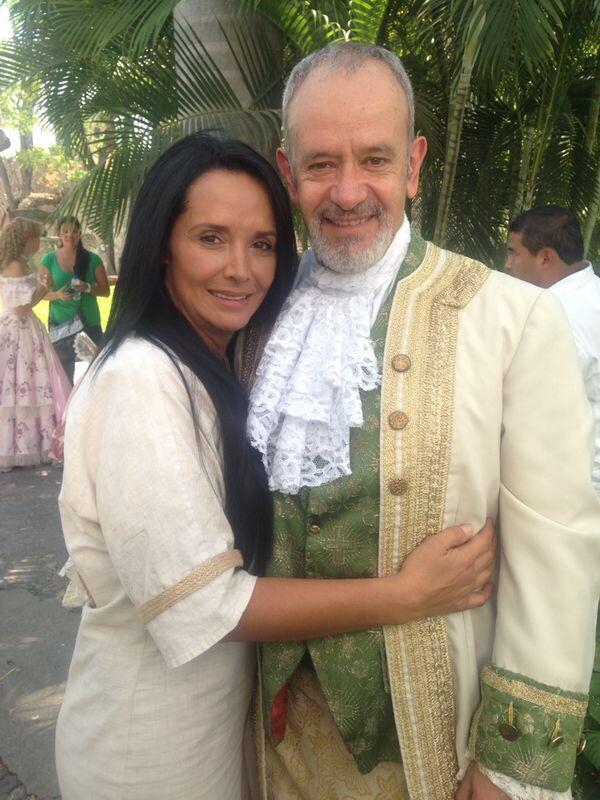 Con Luis Miguel Lombana