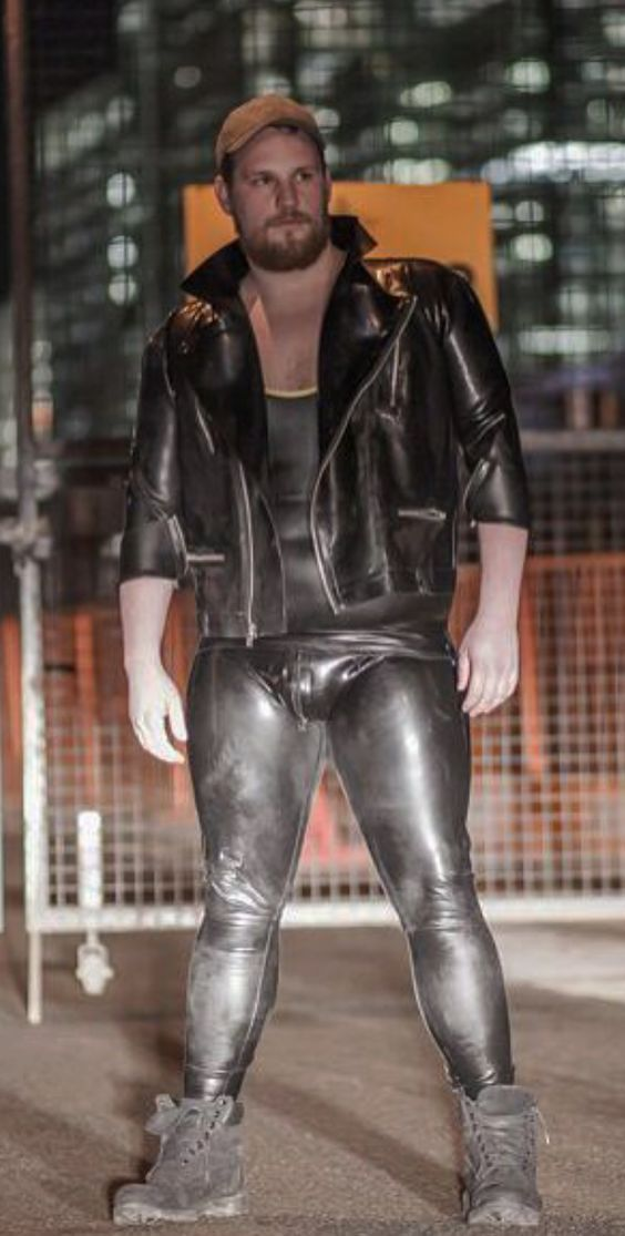 from Kyson gay bear leather chastity