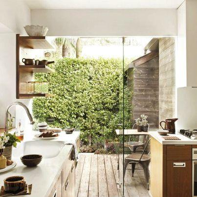 Cozinha jardim