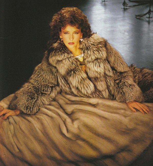 Mink Amp Silver Fox The Beauty Of Fur Fur Coat