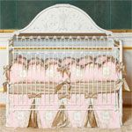 Cassandra Iron Convertible Crib in White