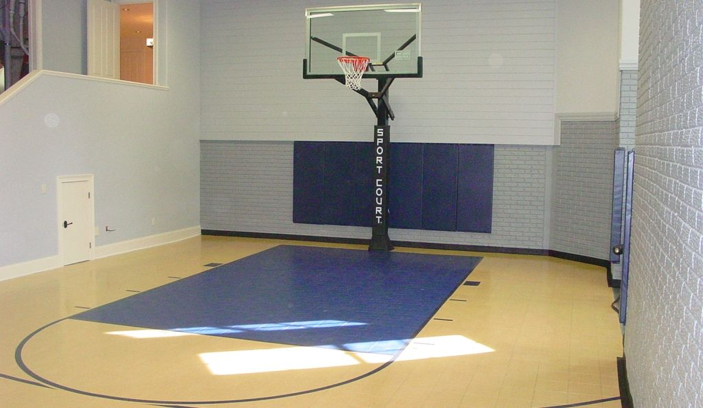 Indoor And Outdoor Basketball Courts Sport Court Wisconsin Home Basketball Court Indoor Basketball Court Indoor Basketball