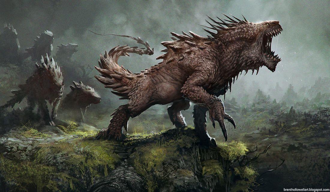 Dragão terrestre filhote