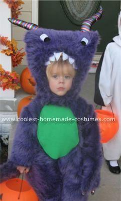 Homemade Furry Monster Costume  sc 1 st  Pinterest & Coolest Homemade Furry Monster Costume | Monster costumes Costumes ...