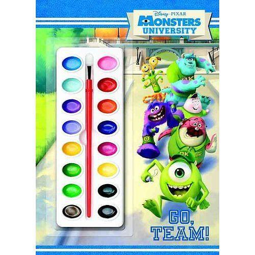 Disney Pixar Monsters University Deluxe Paint Box Book