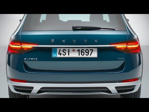 2020 Skoda Superb Scout Features Design And Interior Youtube