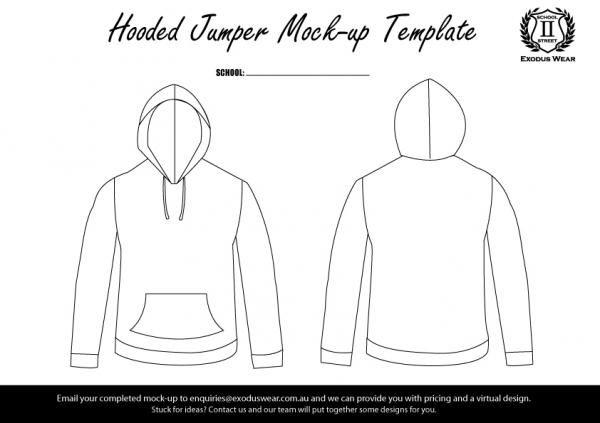 Exodus Wear Jumper Design Template | Design Templates | Pinterest