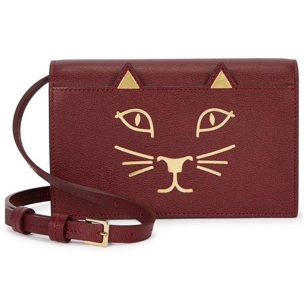 Feline crossbody bag - Red Charlotte Olympia t17TK