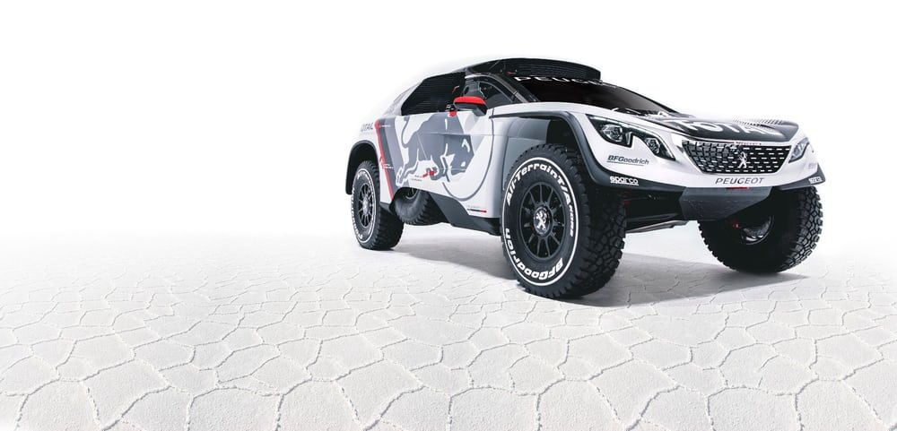 The 3008 DKR has its headlights aimed straight at Dakar 2017