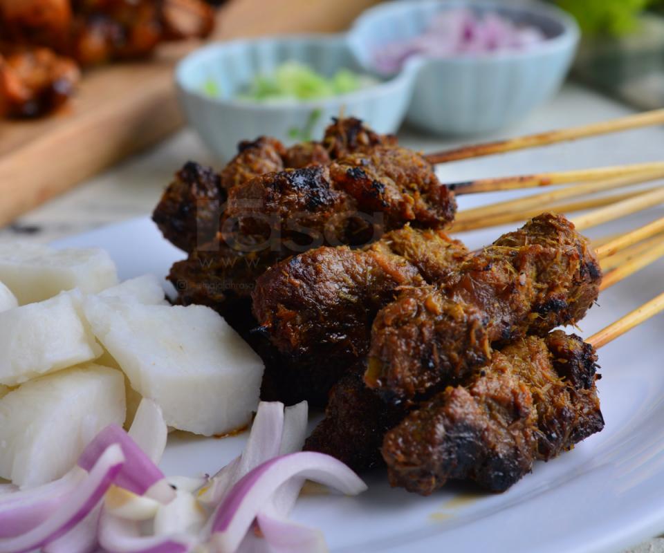 Resipi Sate Ayam Daging Sedap Guna Rempah Homemade Rasa Daging Rempah Ayam