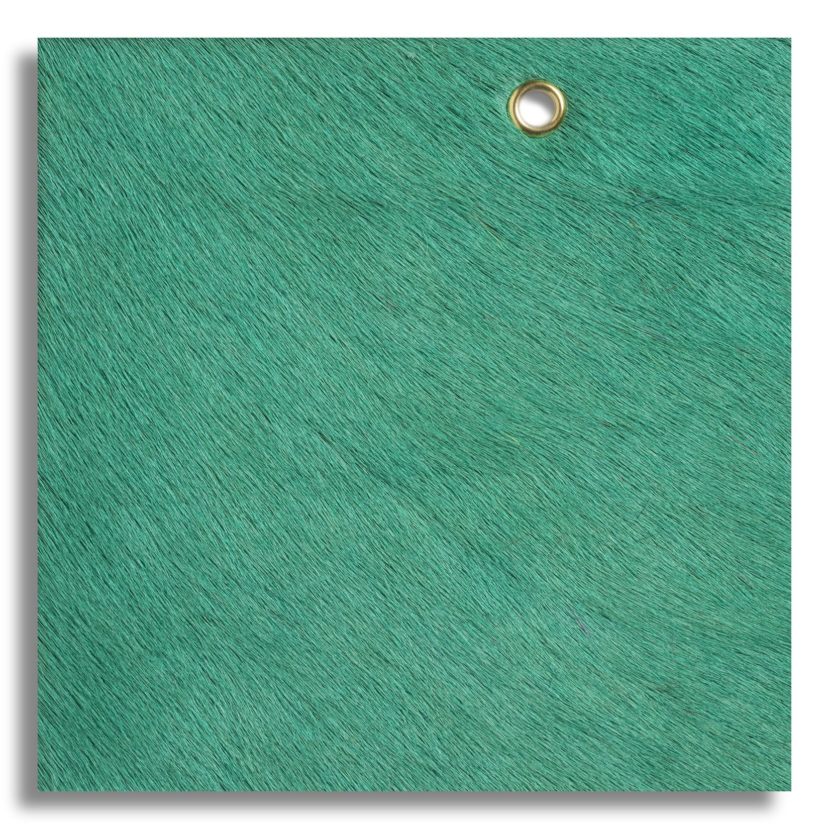 Edelman Leather Cavallini In Barrier Reef Fabric Rug Leather