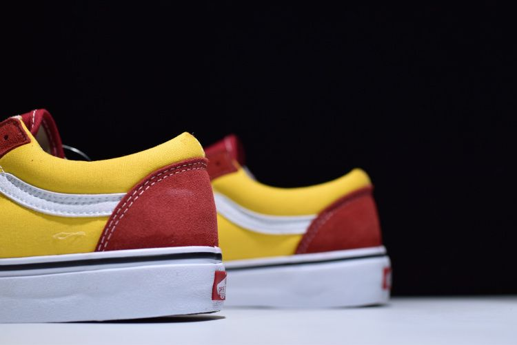 e8a28d49e0 Vans Vault OG Style 36 Anniversary LX Marshmallow 17SS trend plate shoes  red yellow white 12  Vans
