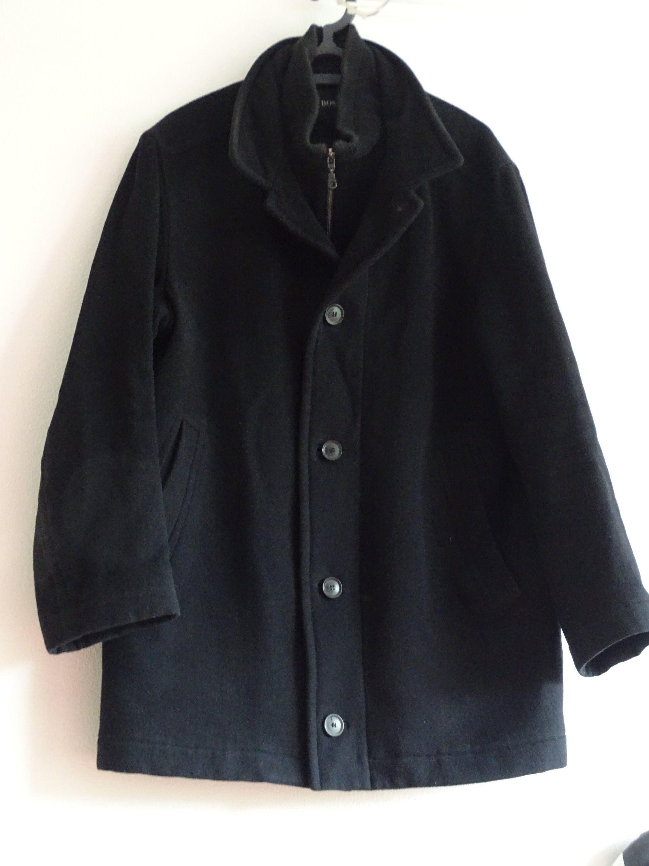 Vintage Hugo Boss Winter Coat, Designer Coat, Men's Winter