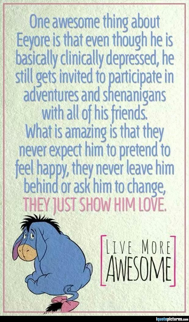 One Awesome Thing About Eeyore
