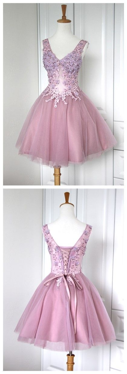Lace Homecoming Gowns