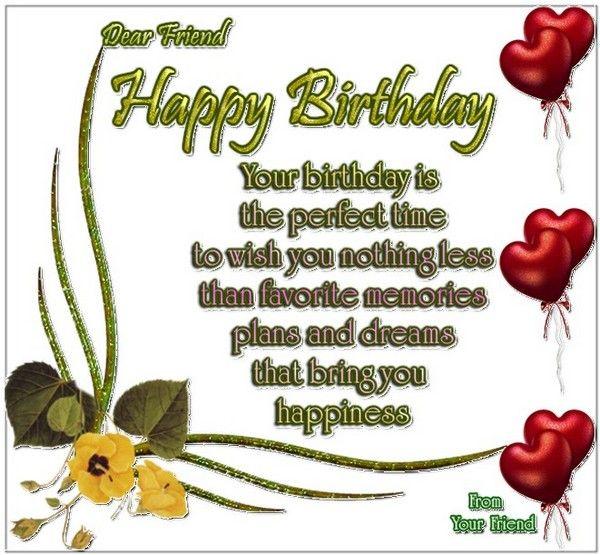 Birthday Poems, Poem And Happy Birthday