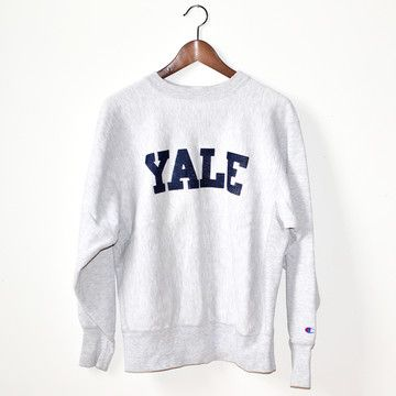 badd476a Vintage Yale Crewneck Sweatshirt <3 I Want one of these so bad, but in  gray, Too bad my parents dont order offline, and I live no where near where  i can get ...