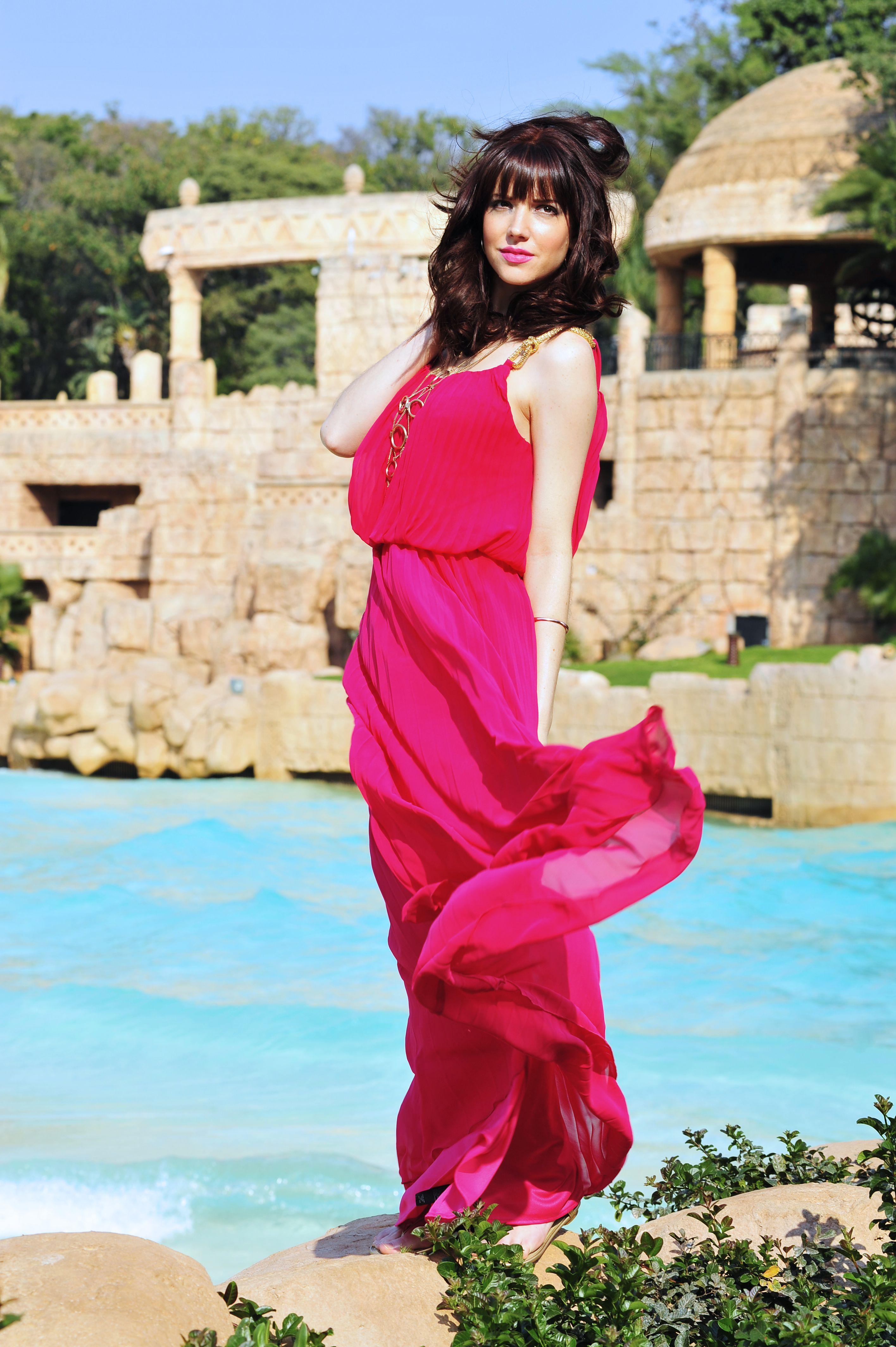 Amalia Uys amalia uys is our 'lady in pink'. #hotfashion