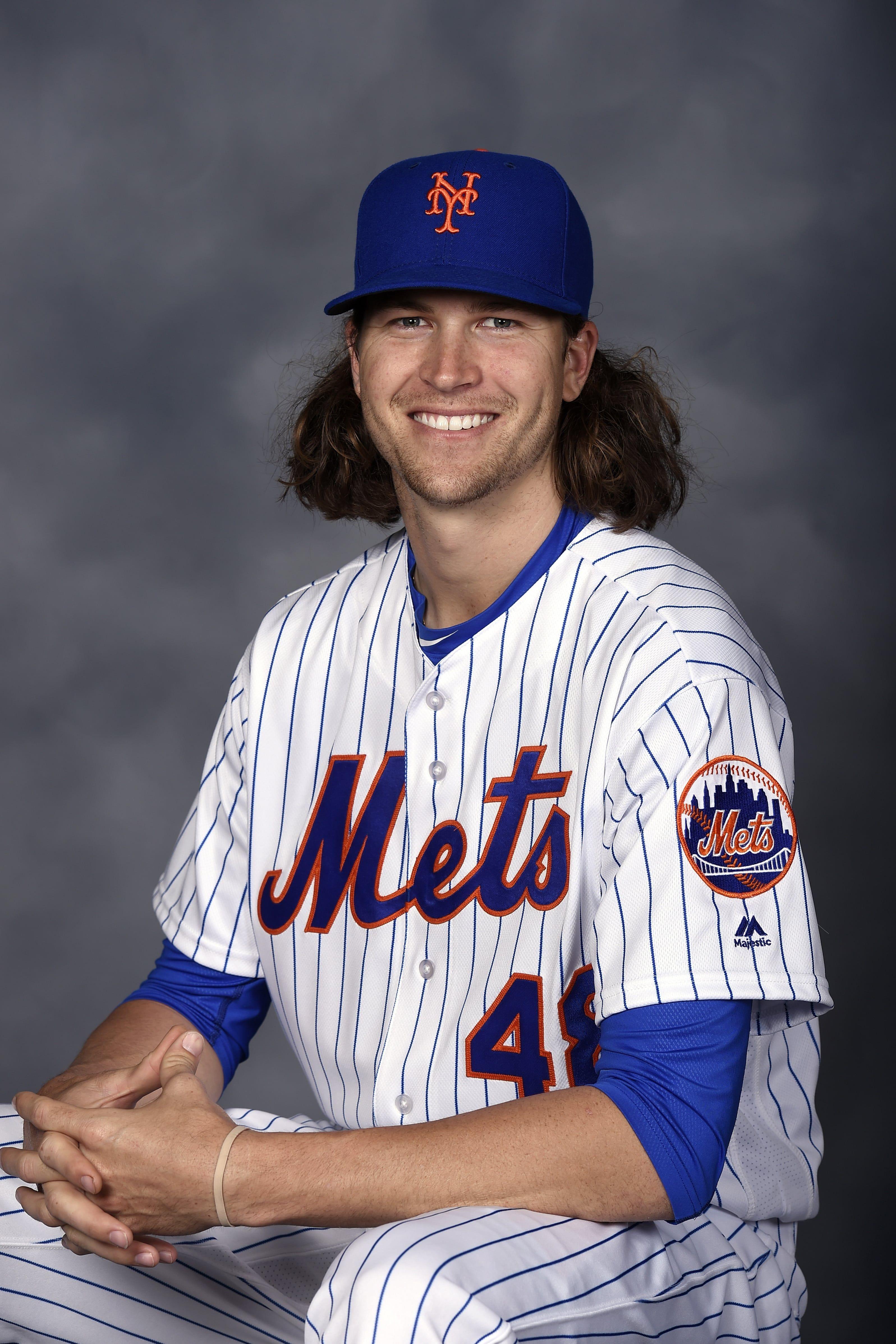 Jacob deGrom | New york mets baseball, Mets baseball, Famous ...