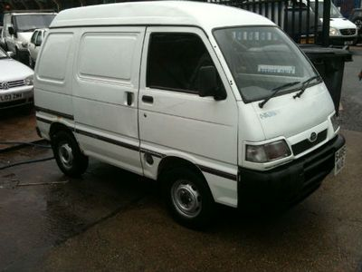 1998 Daihatsu Hi Jet 1300 16v Efi New Mot Cheap Small Van Ebay Daihatsu Van Small Cars