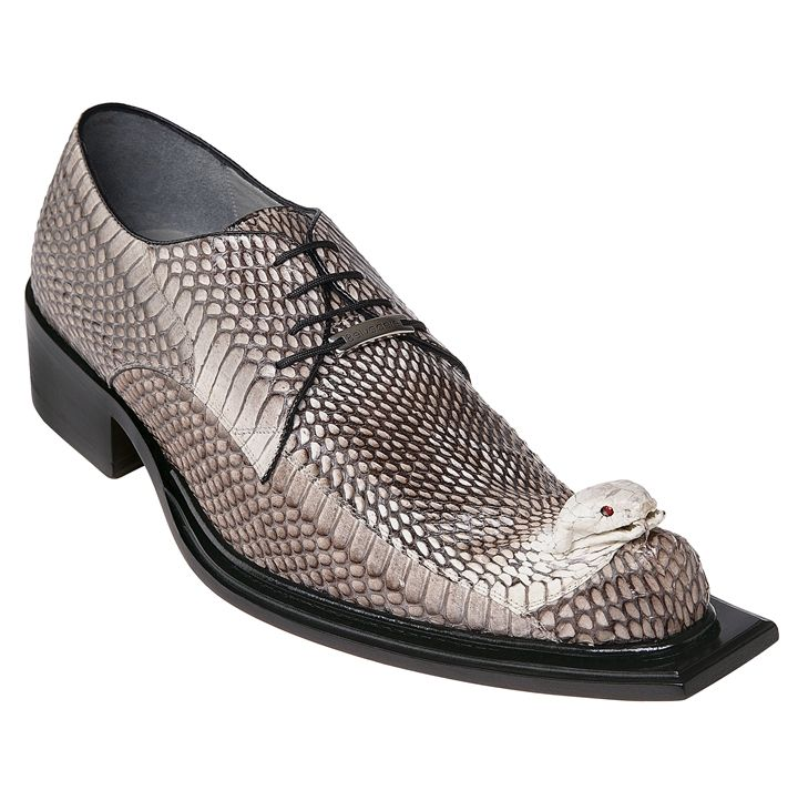 Mens Snakeskin Shoes by Belvedere Natural Cobra Shoes 3402 | Snake ...