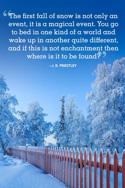 18 Absolutely Beautiful Winter Quotes About Snow | Christmas ...