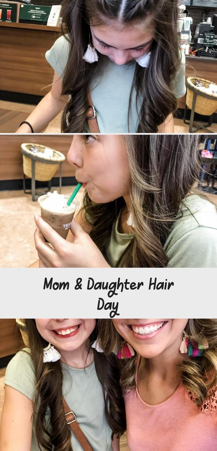 Mom & Daughter Hair Day #firstdayofschoolhairstyles