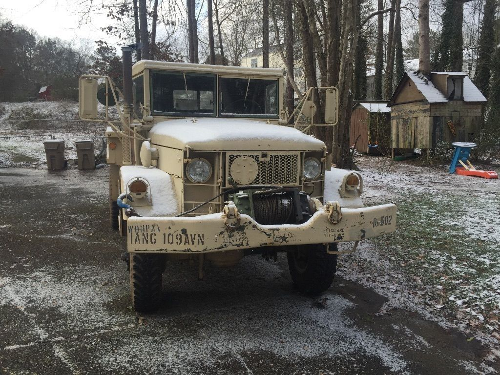 1973 am general m35a2 deuce and a half multi fuel turbo diesel military truck