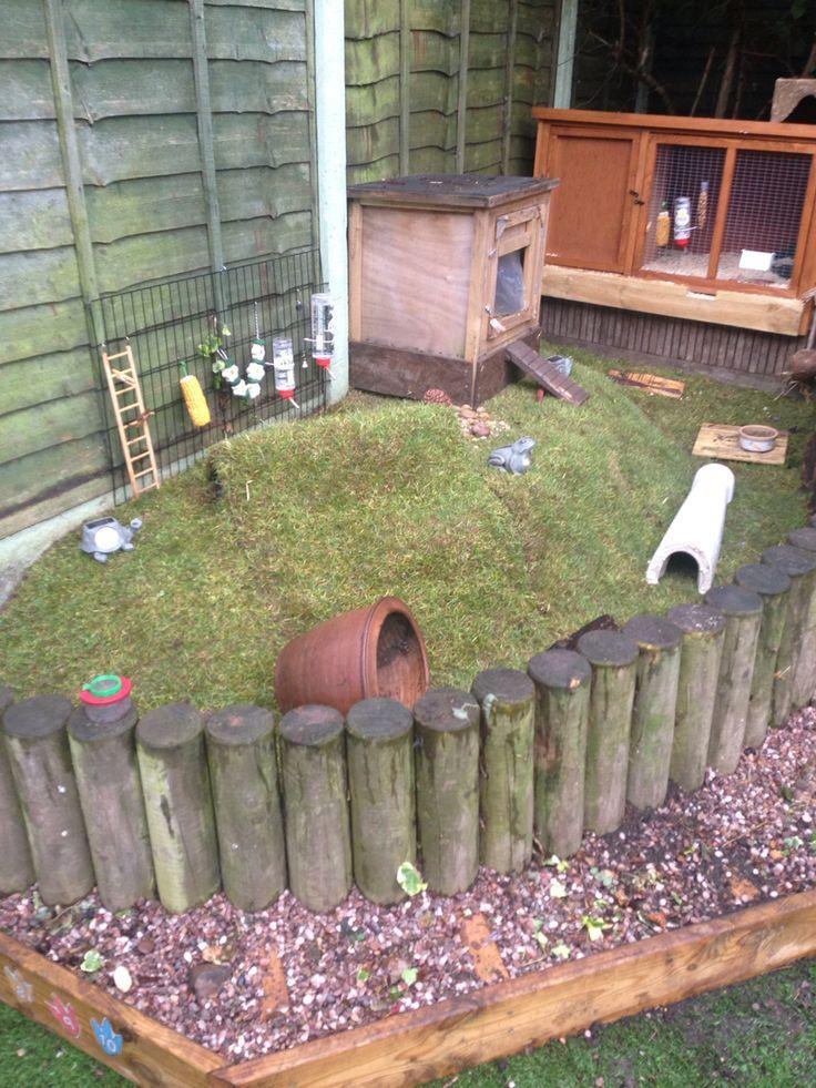Guinea pig enclosure home hutch area pinteres for Diy guinea pig cages for sale