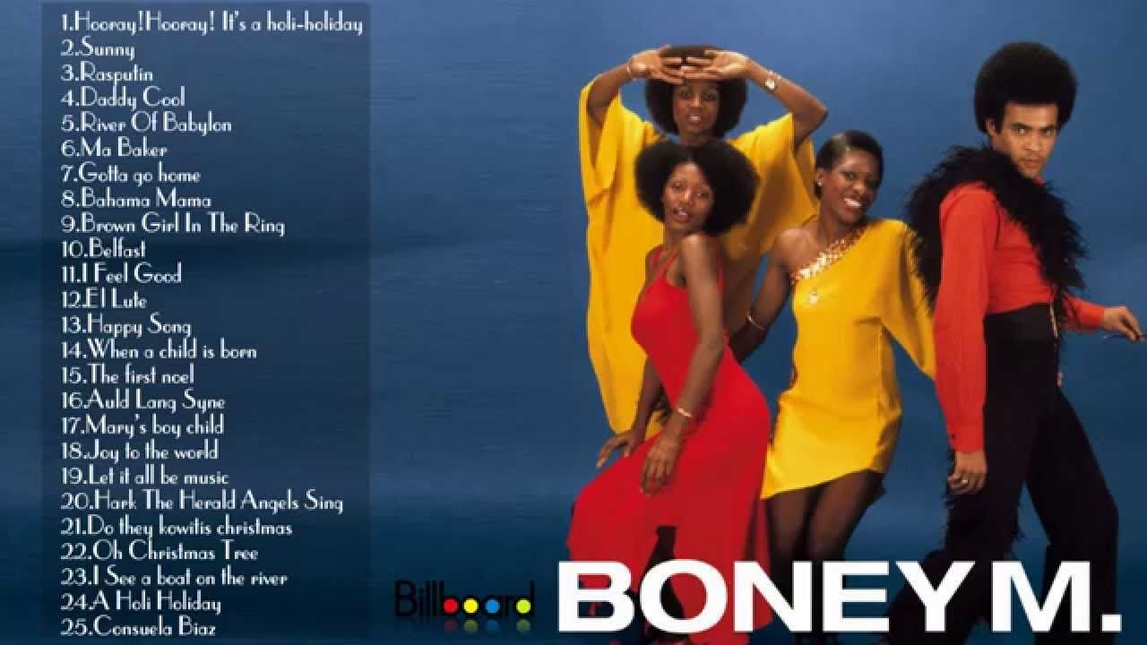 The Best of Boney M || Boney M's Greatest Hits (Full Album) | Boney m, Boney m christmas songs ...